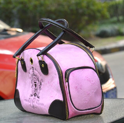 Velvet Pet Carrier