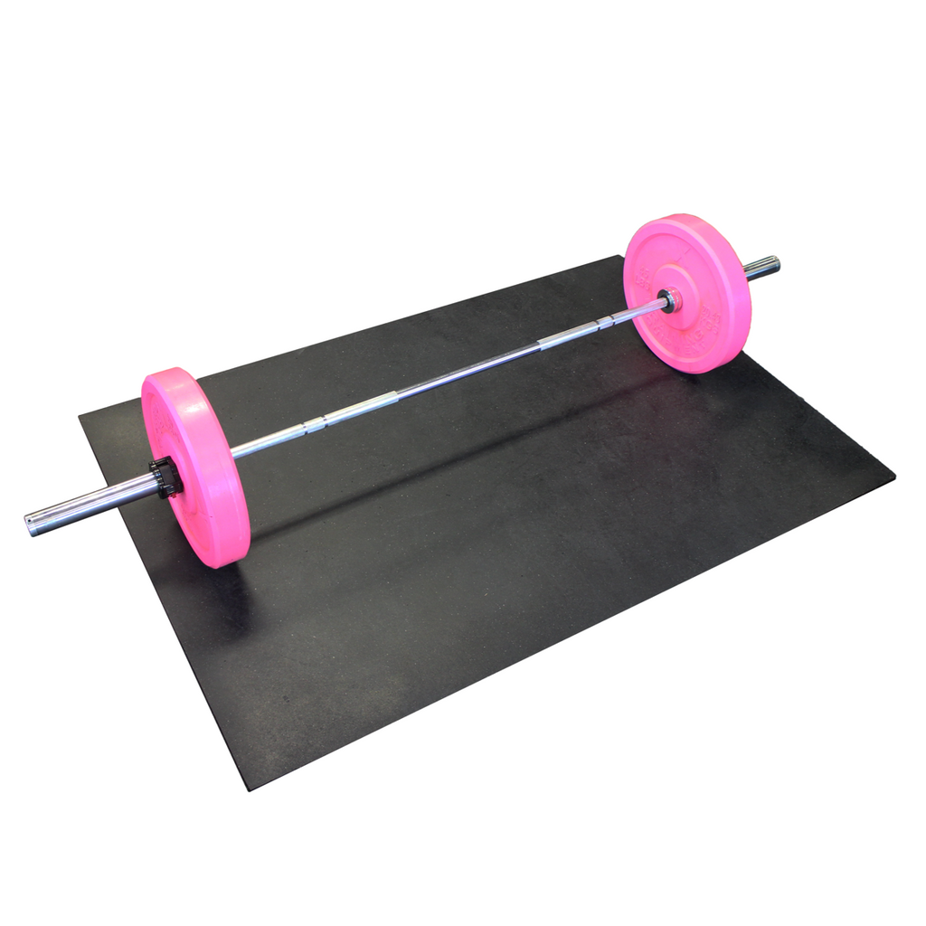 Rubber Gym Mat - 4' x 6'