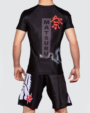 Dragon Short Sleeve Rashguard