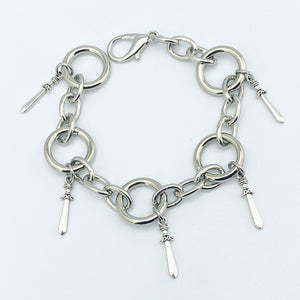 5 OF SWORDS BRACELET