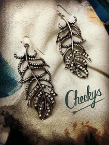 Finder's Feather Earrings