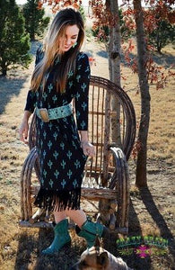 Boot Scootin Kickin-Up Dress