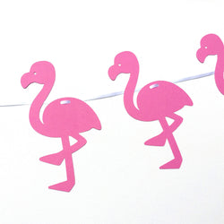 Flamingo Tropical Party Banner