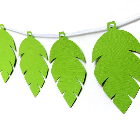 Jungle Leaf Banner
