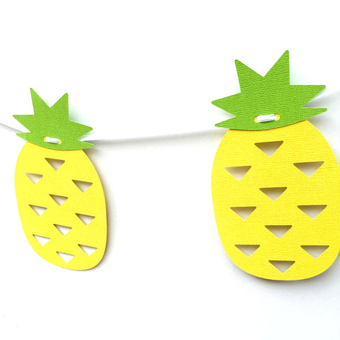 Pineapple Tropical Banner