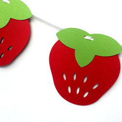 Strawberry Garland in Red
