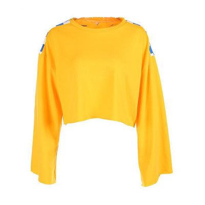 Upstream Cropped Sweatshirt