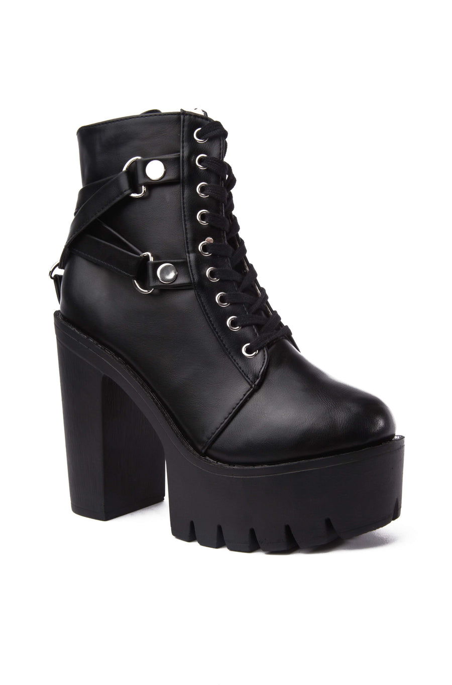 Apex Harness Chunky Boots