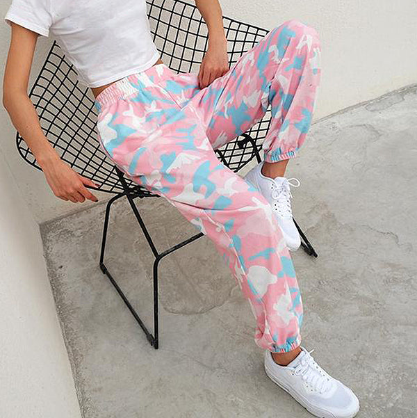 Candy Camo Sweatpants