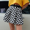 Blaze Checkered Skirt