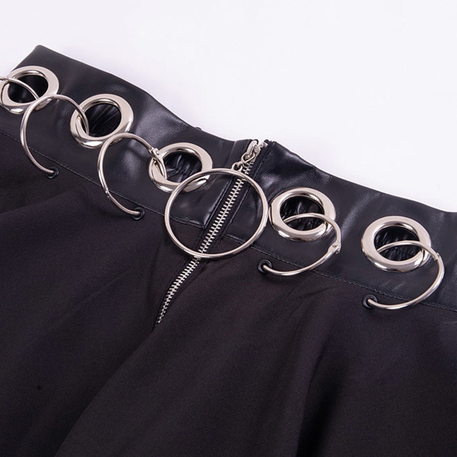 O Ring Zip Thru Skirt