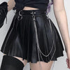 Vampira Pleated Skirt
