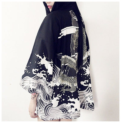 Elemental Lightweight Japanese Kimono (2 Colors)