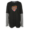 Love Burns Long Sleeve Top