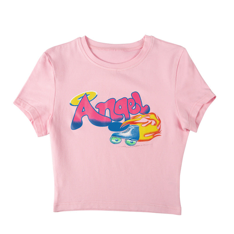 Angel Racer Tee
