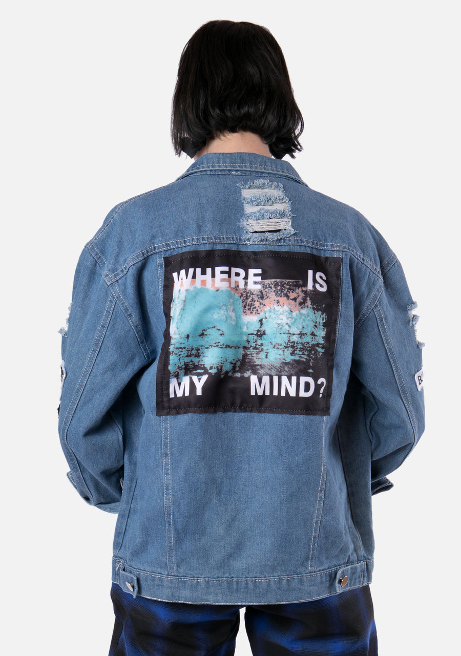 Where Is My Mind Denim Jacket