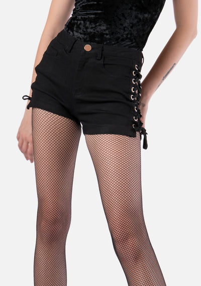 Apocalypse Lace Up Shorts