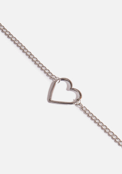 Chained Heart Choker