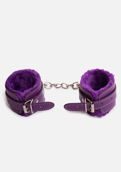 Dominate Vegan Leather Cuffs (4 Colors)
