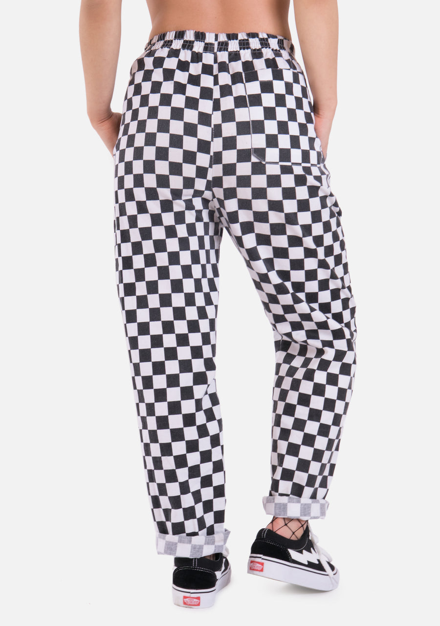 Helter Skelter Checkerboard Pants