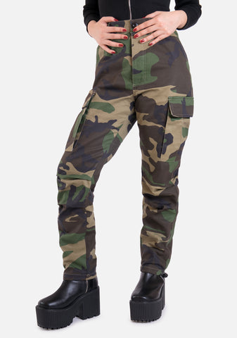Lucifer Camo Cargo Pants (5 Colors)