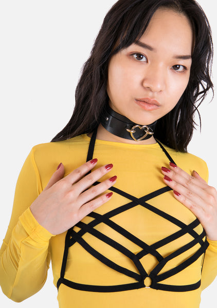 Caged Harness