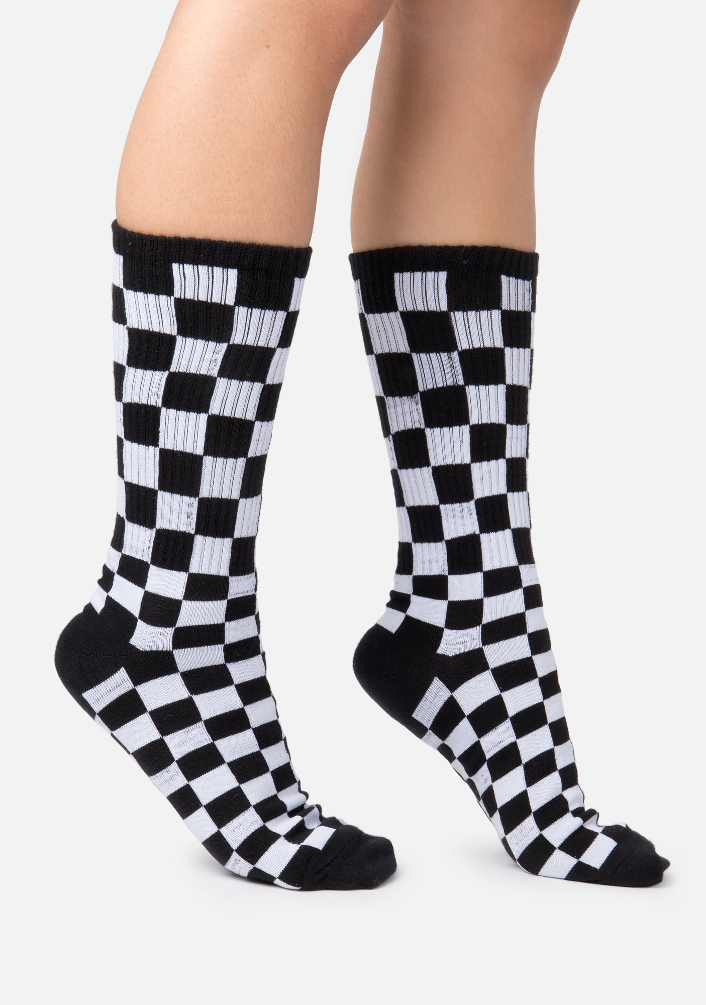 Racer Checkerboard Socks