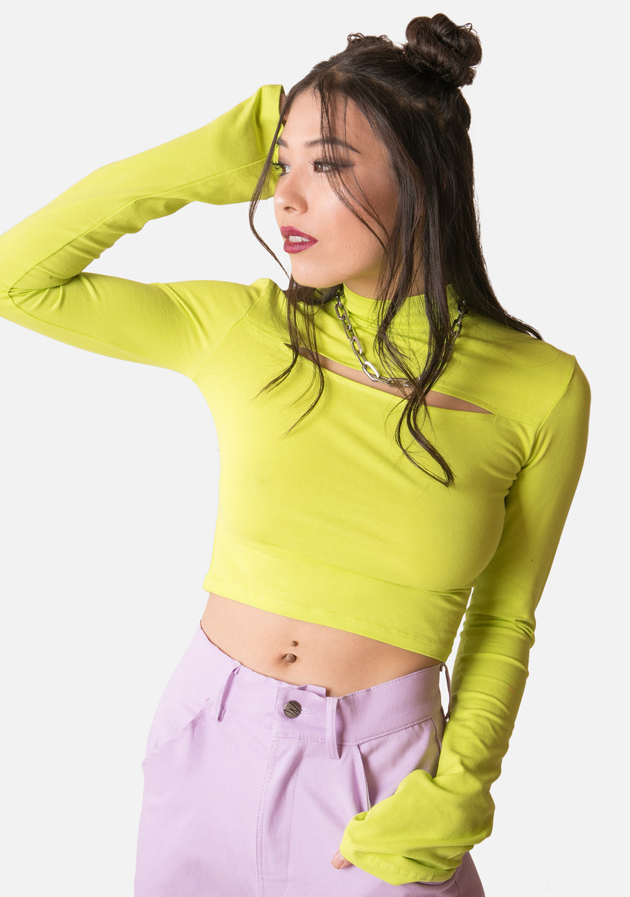 Arcade Cut Out Top