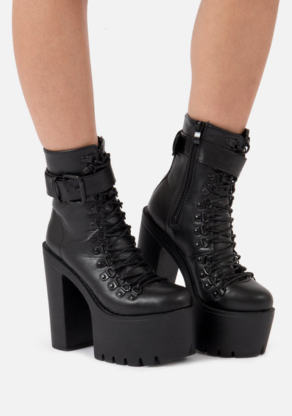 Claw Extra High Chunky Boots