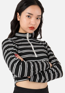 Fling Striped Turtleneck