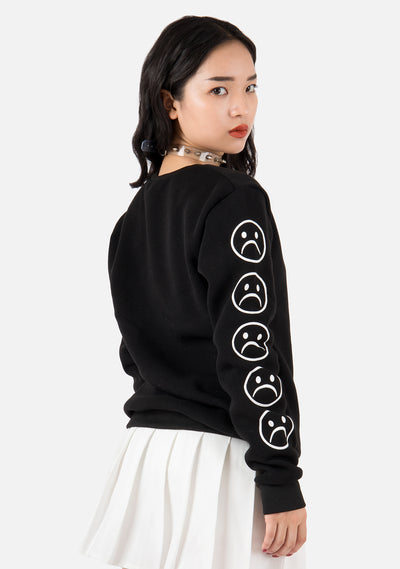 Sad Life Long Sleeved Sweatshirt (2 Colors)