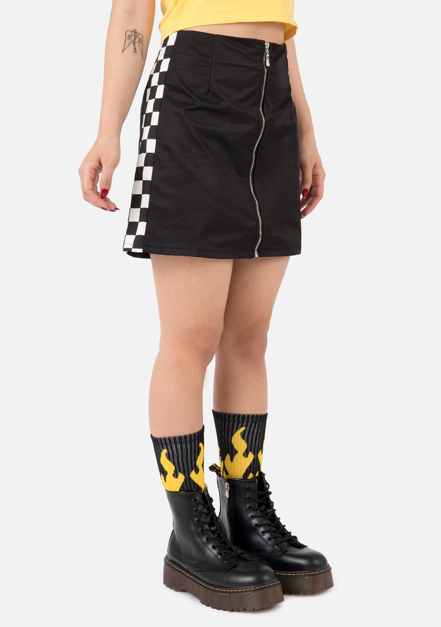 Fatality Checkerboard Skirt
