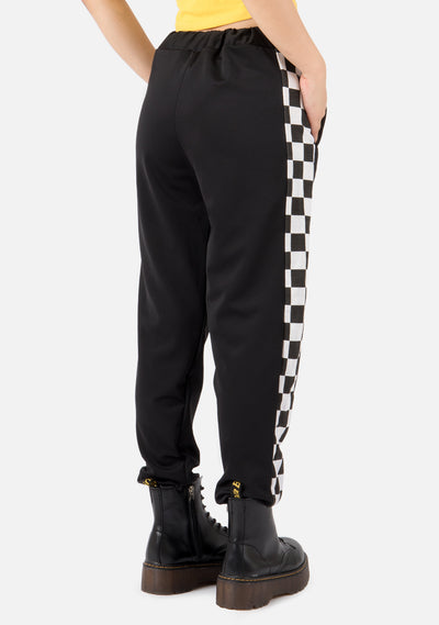 Back Alley Checkerboard Pants