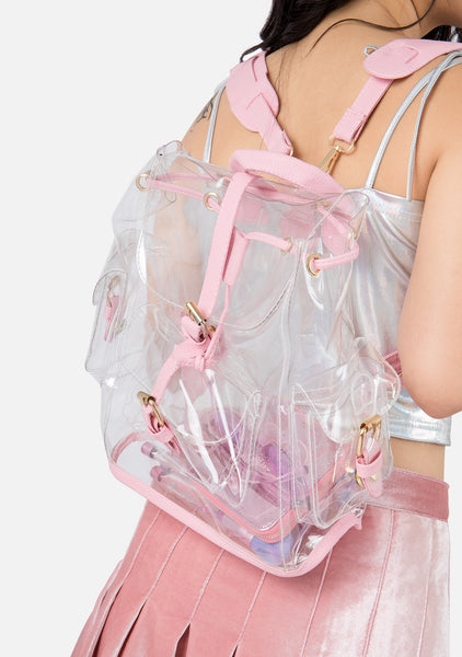 Nothing 2 Declare Transparent Backpack