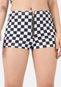 B&W Checkerboard Shorts
