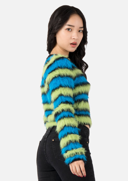 Flunk Furry Sweater (2 Colors)