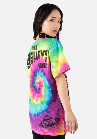 Artificial Intelligence Tie Dye Shirt