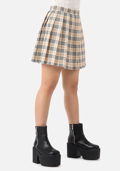 Bambi High Waisted Pleated Skirt (5 Colors)