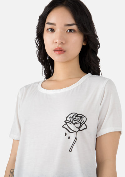 Rosy Sadness T Shirt (3 Colors)