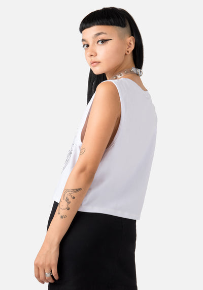 Solar/Lunar Cropped Tank Tops (2 Colors)