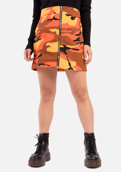 Haze Camo Mini Skirt (2 Colors)