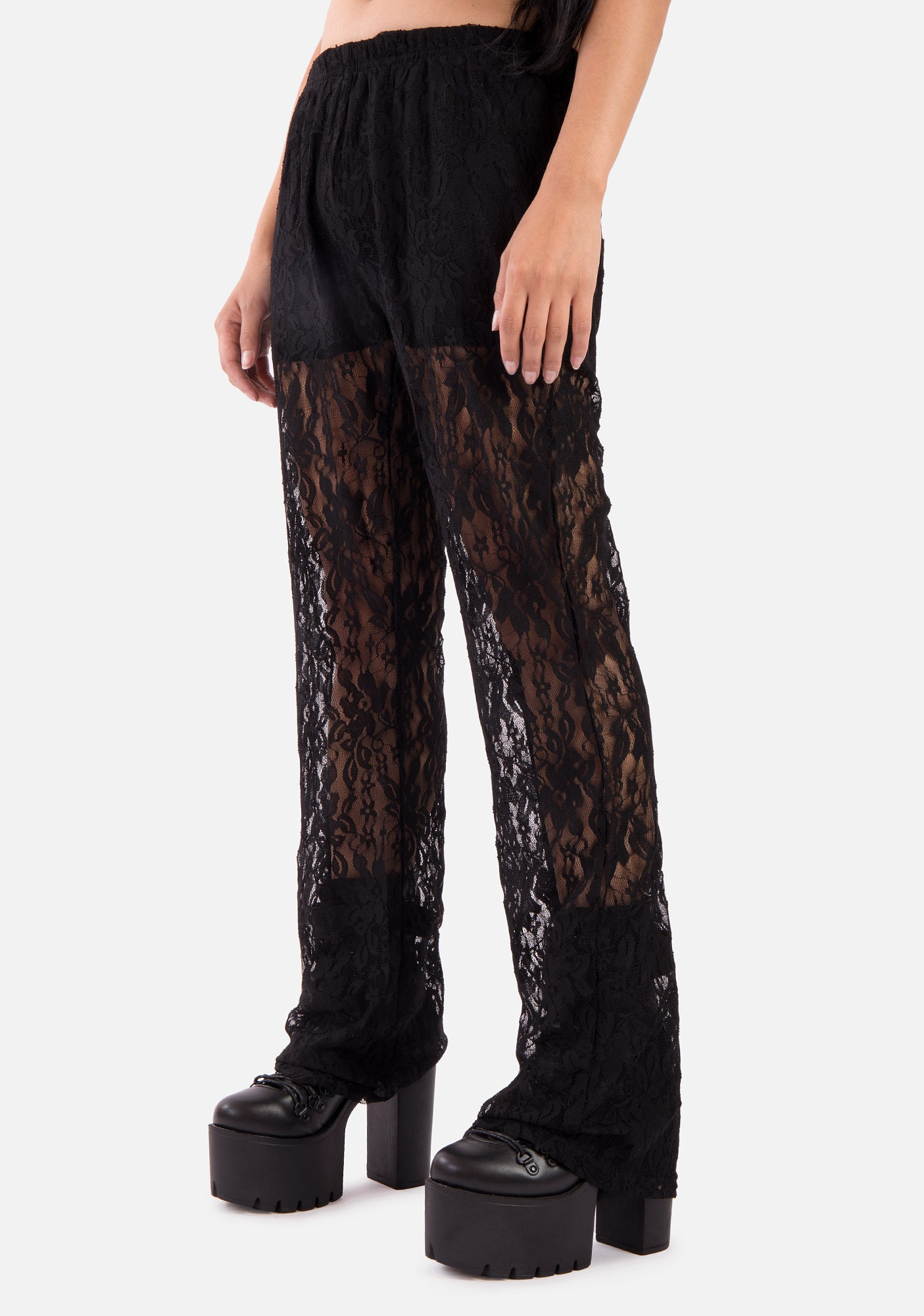 2019 hot sale top quality official images Widow Sheer Pants