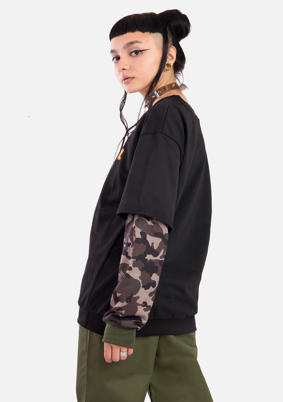 After Death Camo Sweatshirt
