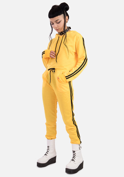 Dare 2 Piece Yellow Tracksuit