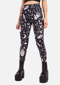 Magick Symbol Leggings