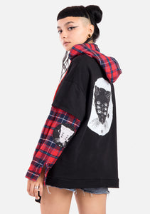 True Destiny Plaid Pullover