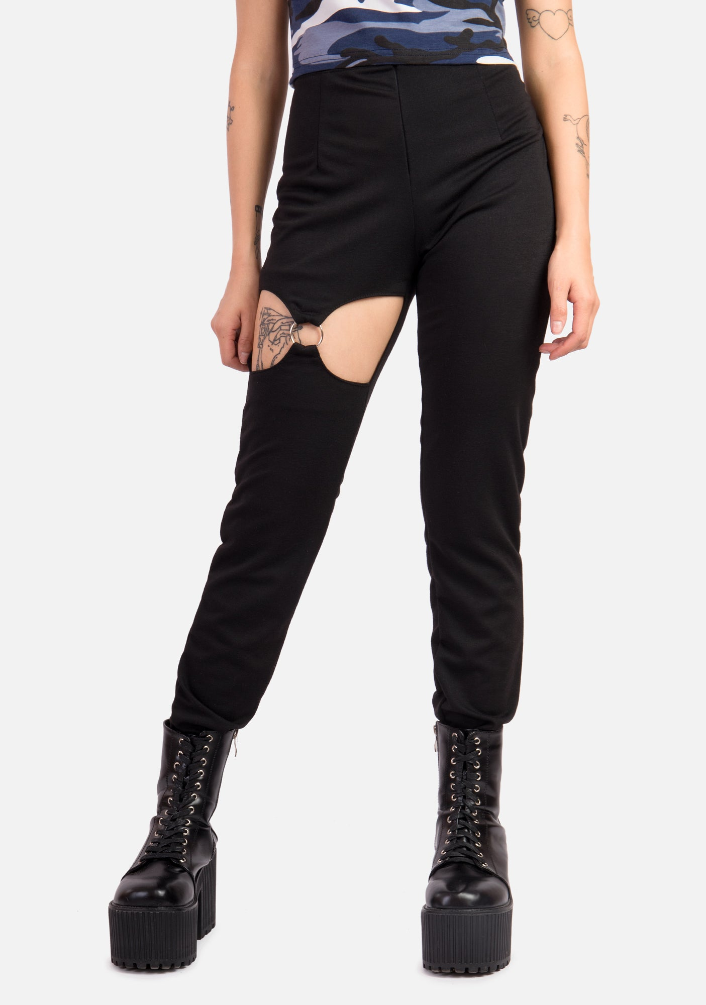 Peeper Cut-Out Pants