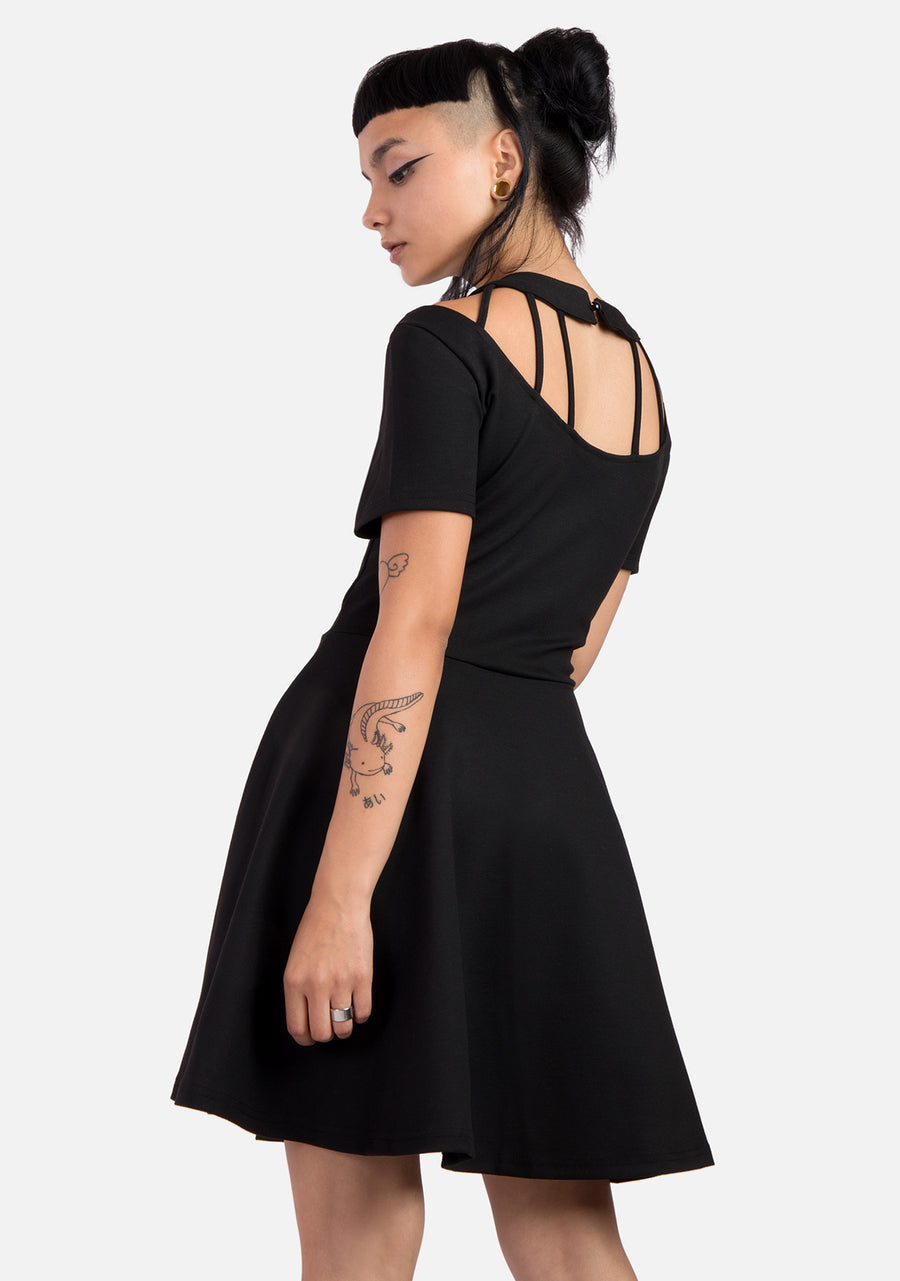 Coffin Dweller Harness Mini Dress