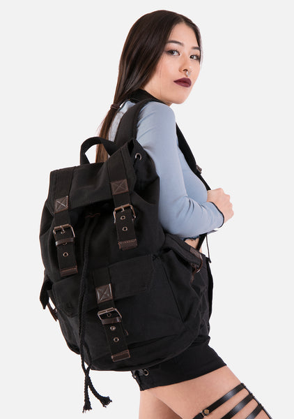 Lone Ranger Canvas Backpack