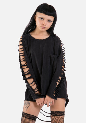 Desolate Distressed Top